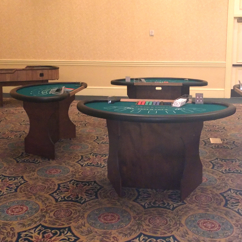 Black Jack Tables Image