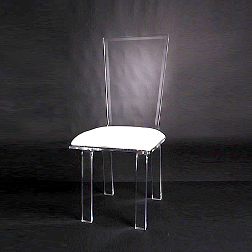 Acrylic Flex Chair Image