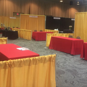 Trade Show Booth - Gold Image