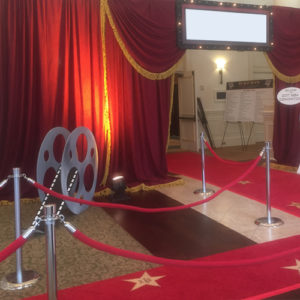 Red Rope & Stanchions Image