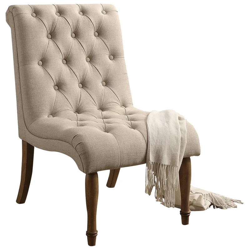 Tufted Chair - Natural Image