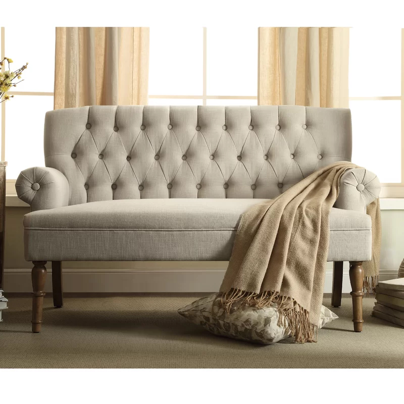 Tufted Sofa - Natural Image