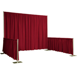 Trade Show Booth - Red Image