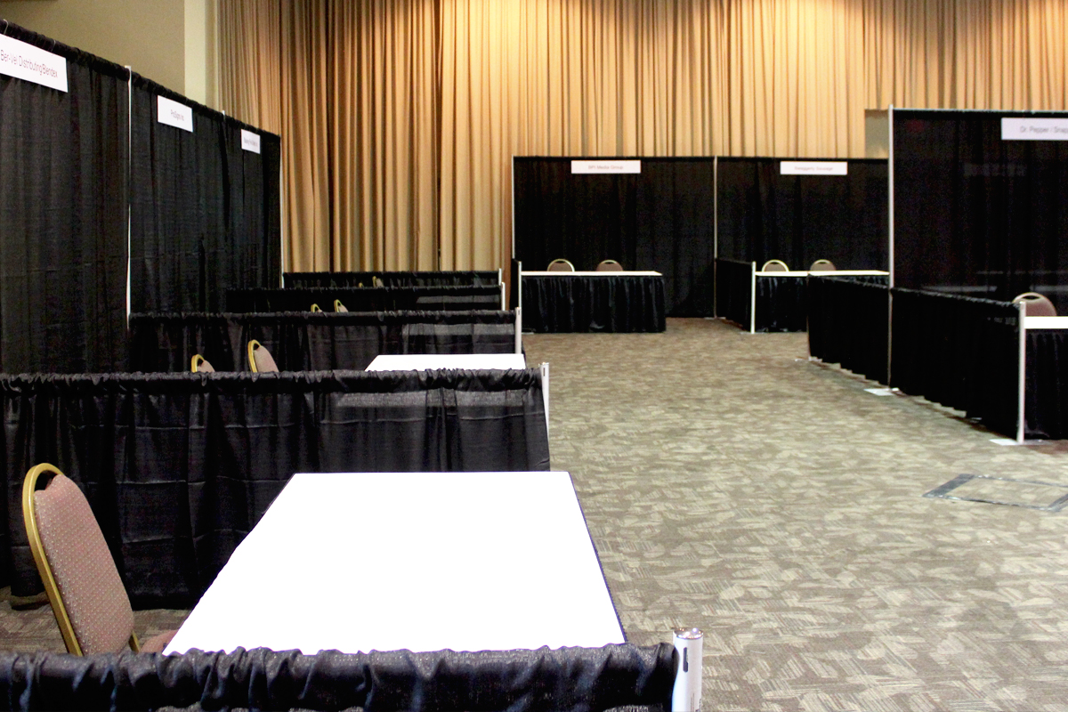 You are currently viewing Trade Show Booth – Black