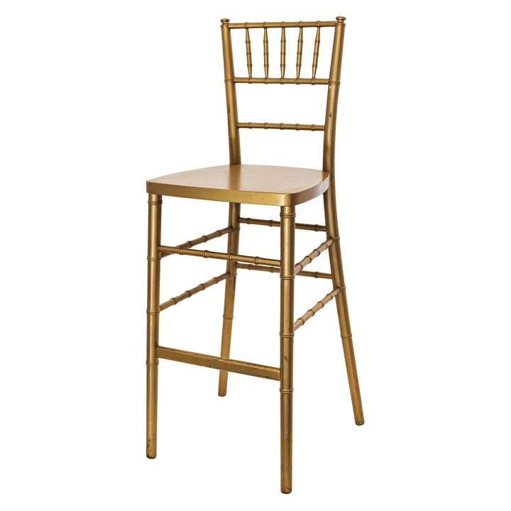 Chiavari Bar Stool (Gold) Image