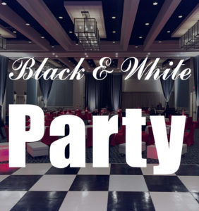 Black & White Party Image