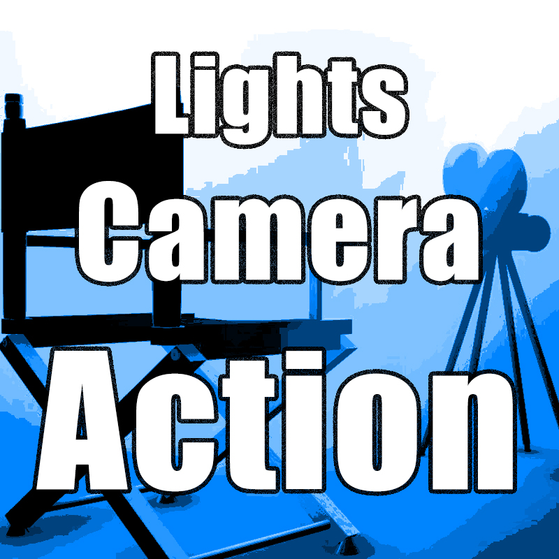 Lights, Camera, Action Image