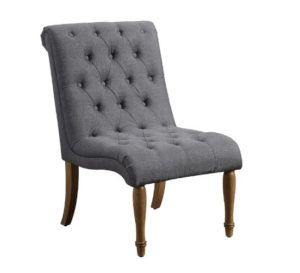 Tufted Chair - Grey Image