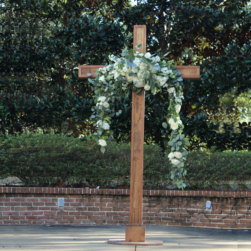 Wood Cross Image