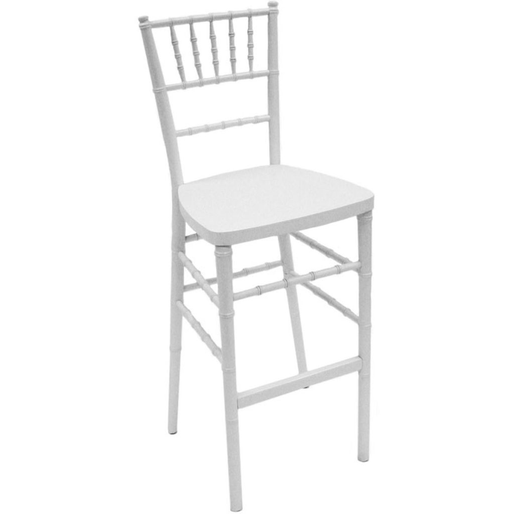Chiavari Bar Stool (White) Image