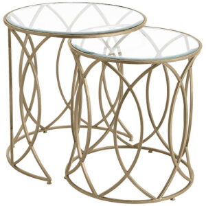 Bronze Nesting Accent Tables Image